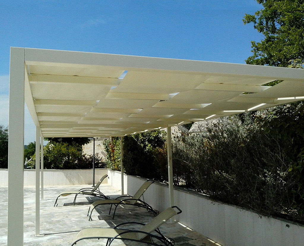 Favorini Tende   Gazebo In Alluminio Con Telo Saliscendi FdV