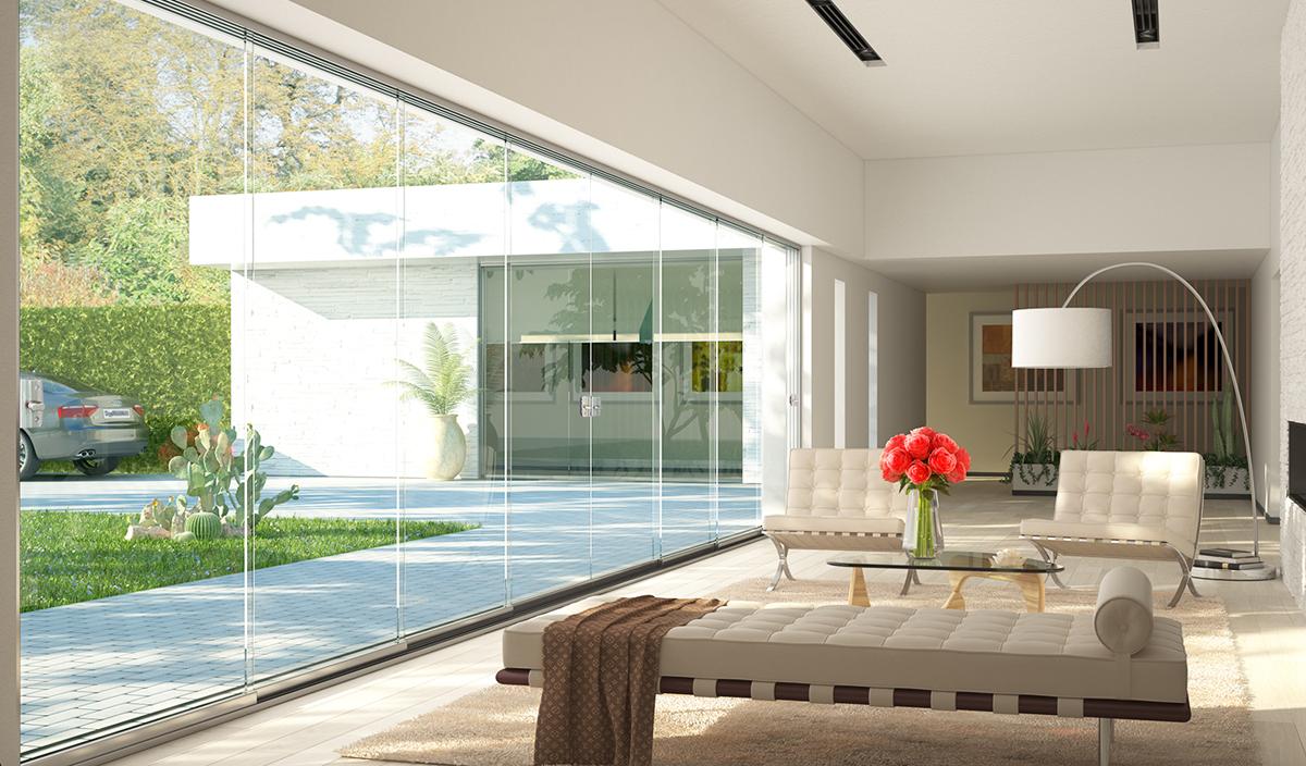 Tende Per Esterni Scorrevoli : Vetrate scorrevoli per esterni gallery of gazebo in alluminio